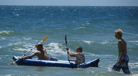 Inflatable Fishing Kayak