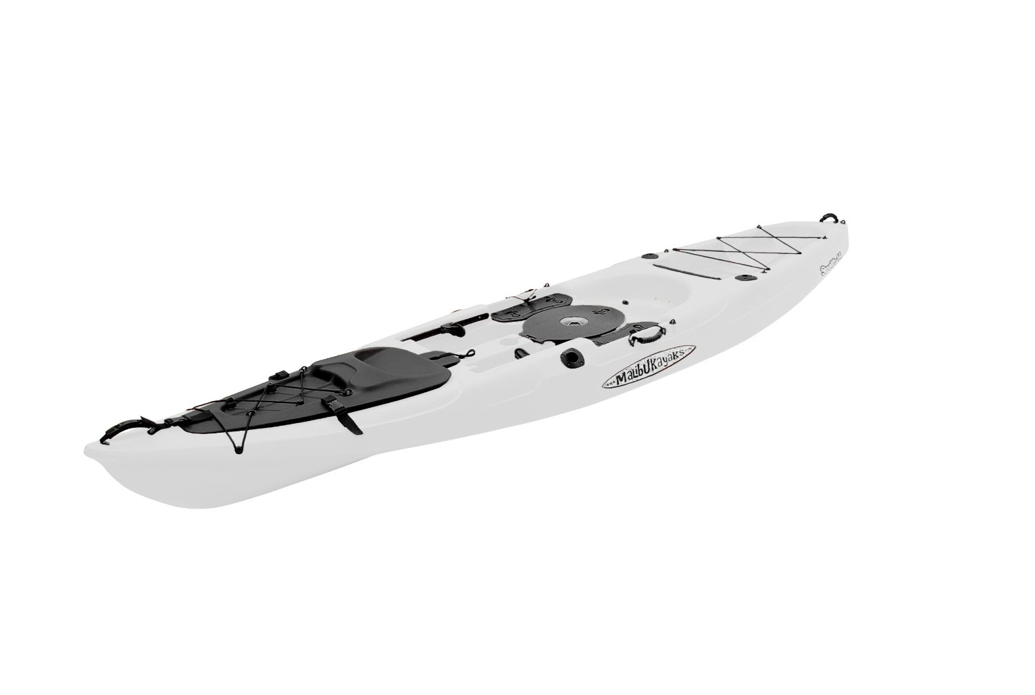 Malibu kayaks stealth 14 fish and dive package sit on top for Fishing kayak review